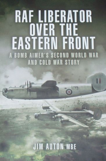 RAF Liberator over the Eastern Front, by Jim Auton